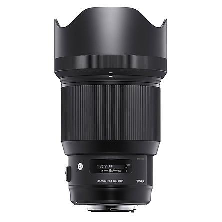 Ống Kính Sigma 85mm F/1.4 Art - For Canon - Hàng Nhập Khẩu