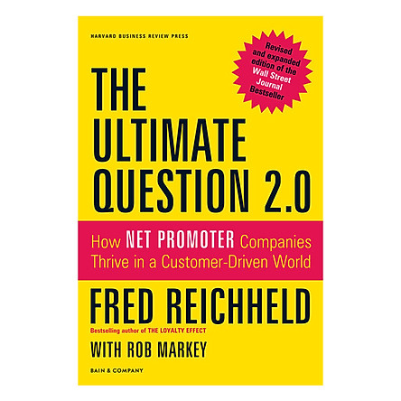 Harvard Business Review Press The Ultimate Question 2.0