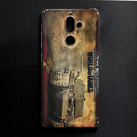 Ốp lưng cứng in hình dành cho Nokia 7 Plus - mẫu 288
