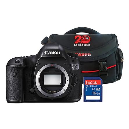 Canon EOS 5DS Body - Tặng Kèm Thẻ Nhờ Và Túi Đựng Máy Ảnh - Hàng Chính Hãng