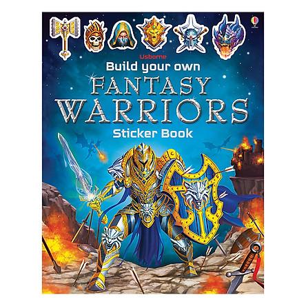 Build Your Own Fantasy Warriors Sticker Book - Build Your Own Sticker Book