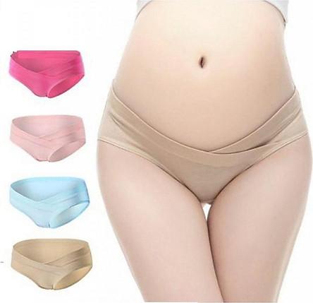 Bộ 4 quần lót cho bà bầu mềm mịn (màu ngẫu nhiên)