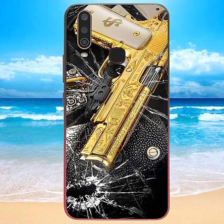 Ốp điện thoại dành cho máy Vivo Y12 - GOLDEN GUN MS DGDG015