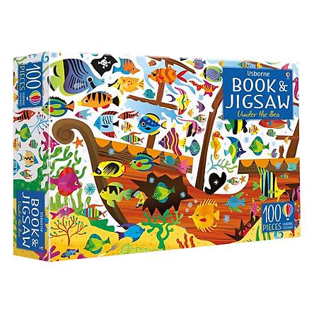 Usborne Book and Jigsaw Under the Sea