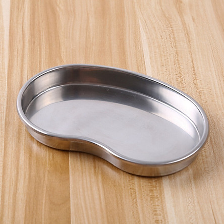 1PC oral hygiene care Stainless steel medical tray anti code disinfection plate for Orthodontic and tooth whitening