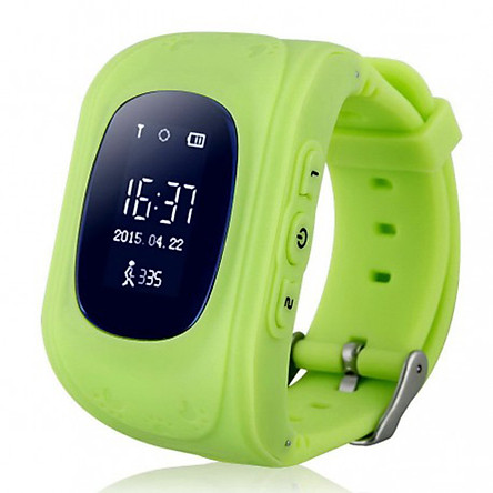 Đồng hồ định vị trẻ em Wonlex Q50 ( Xanh lá ) - Hàng chính hãng