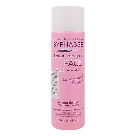 Nước Hoa Hồng Dưỡng Da Byphasse Face Soft Toner Lotion (500ml)