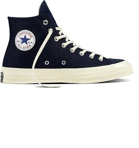 Giày Sneaker Unisex Converse Chuck Taylor All Star 1970s Woven High - Black