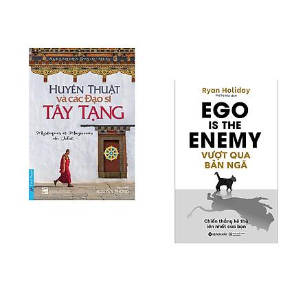 Combo 2 cuốn sách: Huyền Thuật Và Các Đạo Sĩ Tây Tạng + Vượt Qua Bản Ngã