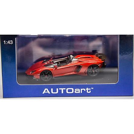 Xe Mô Hình Lamborghini Aventador J 1:43 Autoart - 54651aa2 (Đỏ)