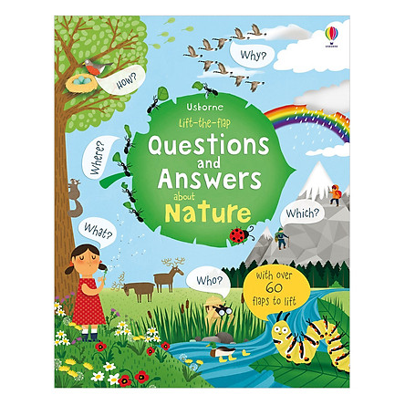 Usborne Lift the Flap Questions and Answers about Nature