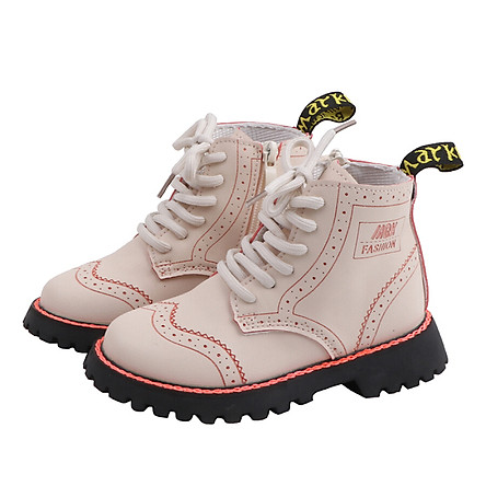 Girls Martin Boots Shoes For Girls Children Warm Boots Fashion Soft Bottom Boys Girls Boots Non-slip Kids Sneakers