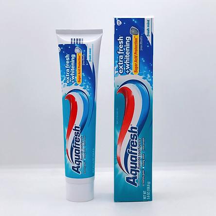 Kem Đánh Răng Aquafresh Extra Fresh + Whitening Tuýp 158.8G