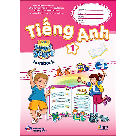 Sách Tiếng Anh i-Learn Smart Start Level 01 (Notebook)