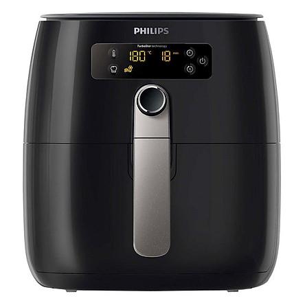 Nồi Chiên Không Dầu Điện Tử Philips HD9643 - Đen - Hàng nhập khẩu