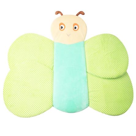 Foldable Shower Bath Butterfly Infant Bath Tub Baby Sink Bath Baby Play Bath Safety Petal Pad Cushion Mat Newborn Baby Bathtub