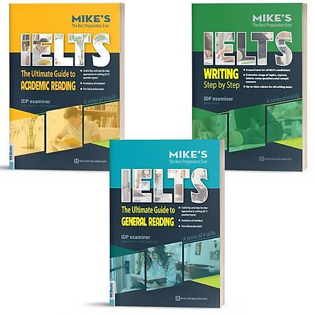 Sách - Combo IELTS MIKE - Ielts Reading and Ielts Writting Dành Cho Người Tự Học