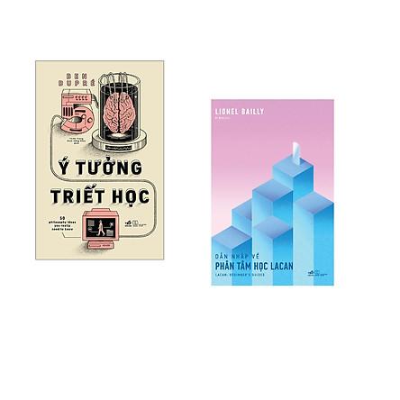 Combo 2 cuốn sách: 50 ý tưởng triết học  + Dẫn nhập về phân tâm học Lacan