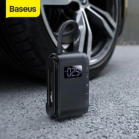 Máy bơm hơi, bơm lốp đa năng cầm tay Baseus Dynamic Eye Inflator Pump - Hàng chính hãng