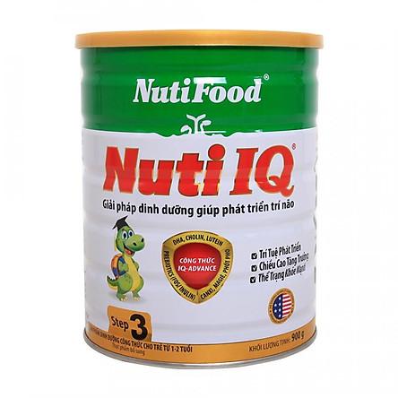 Sữa cho trẻ 1-2 tuổi với công thức IQ-Advance NUTI IQ STEP 3 900 gr