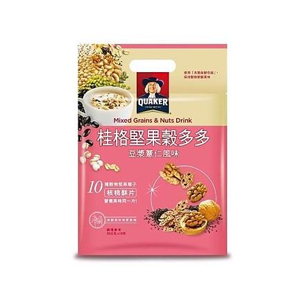 Ngũ cốc dinh dưỡng đậu nành và hạt ý dĩ Quaker (30gx10 gói/túi)