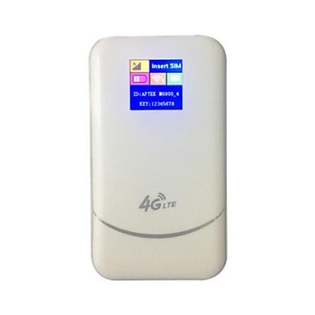 Thiết Bị Phát Wifi 3G/4G LTE Aptek M6800 6800mAh - Hàng Chính Hãng