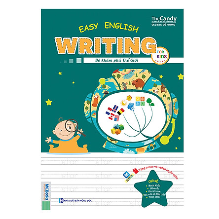 Easy English Writing For Kid – Bé Khám Phá Thế Giới