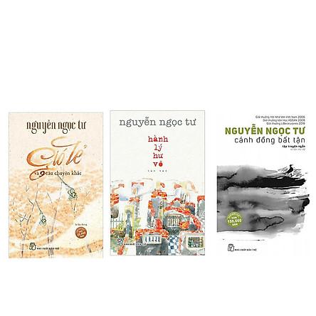 Combo 3 cuốn Cánh đồng bất tận + Hành lý hư vô + Gió lẻ và 9 câu chuyện khác