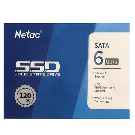 Ổ cứng SSD Netac 120GB - Hàng Chính Hãng