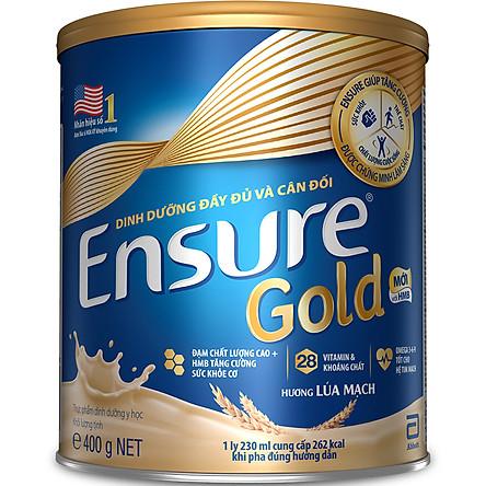 Lon sữa Ensure Gold của hãng Abbott