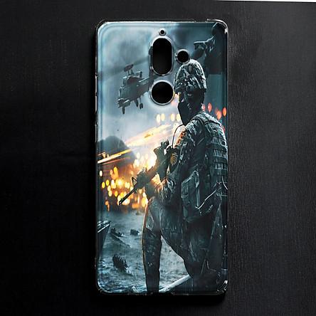 Ốp lưng cứng in hình dành cho Nokia 7 Plus - mẫu 275