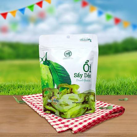 Ổi Sấy Dẻo 75g - Nông Lâm Food   Món Quà Cho Sức Khỏe Từ Thiên Nhiên 100%   Đồ Ăn Vặt - Đặc Sản Việt