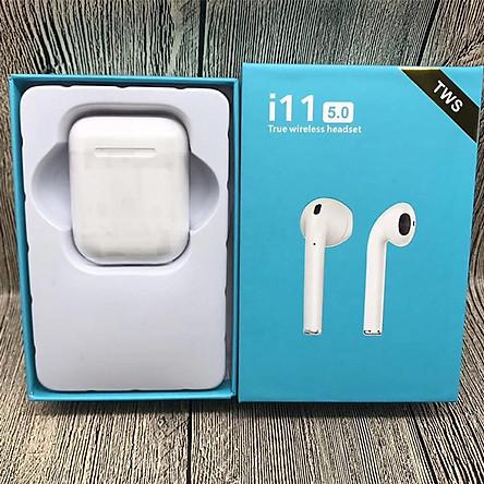 Tai Nghe Bluetooth i11 TWS 5.0 True wireless headset Cảm ứng - Hàng Nhập Khẩu
