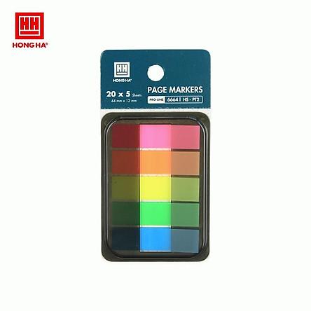 Giấy phân trang 5 màu Hồng Hà HS-PT2 6664