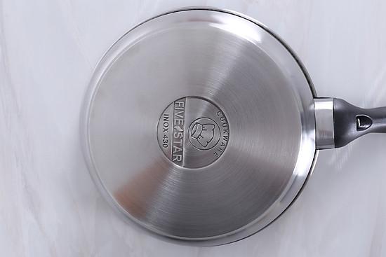 Chảo Inox Chống Dính 3 Đáy Fivestar CKD22-3DI (22cm)  - Hàng Chính Hãng