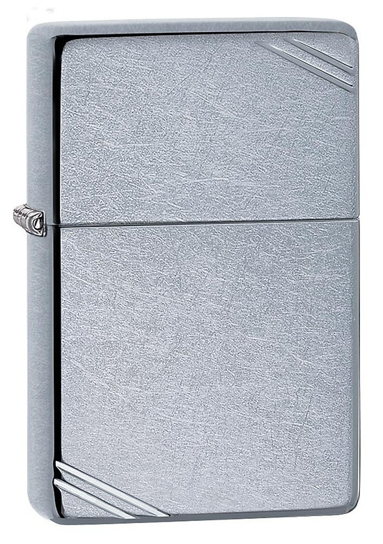 Bật Lửa Zippo Street Chrome Vintage with Slashes 267