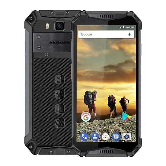 Điện thoại Ulefone armor 3 pin 10.300 mAh, chống nước,chống va đập - cam