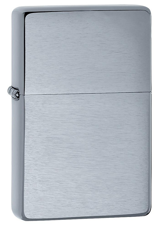 Bật Lửa Zippo Vintage Brushed Chrome (No slashes) 230.25