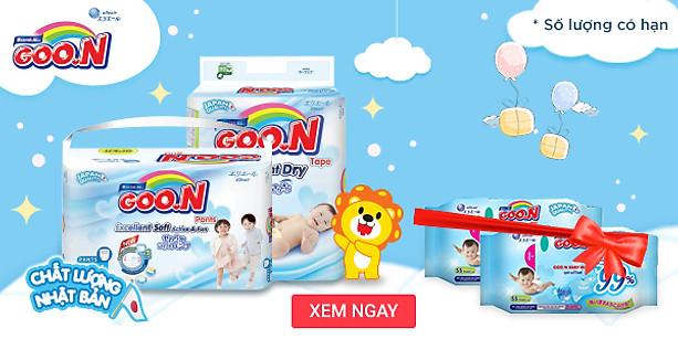 Goon - Tã quần cao cấp cho bé