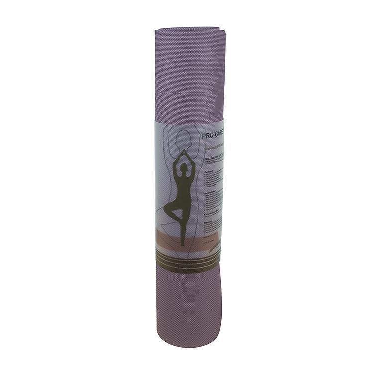 Thảm tập yoga Pro-Care TPE 2 lớp 6mm