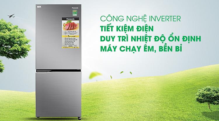 Công nghệ Inverter - Tủ lạnh Panasonic Inverter 255 lít NR-BV280QSVN