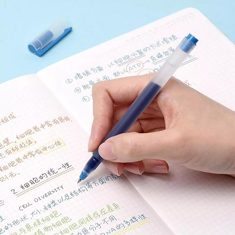 Bút viết Xiaomi 0,5mm gel bút đồ dùng học tập văn phòng phẩm 5 cái bút viết màu 6