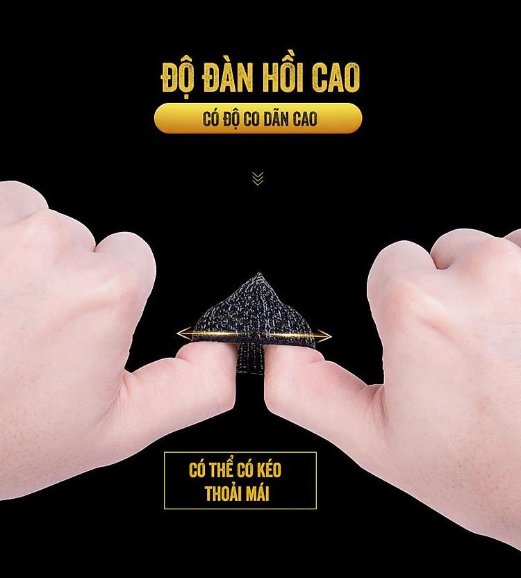 Găng tay chơi game chống mồ hôi hỗ trợ chơi game PUBG, Liên quân, Rules Of Survival Aturos M12
