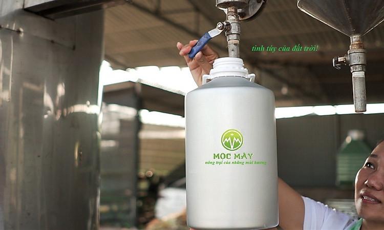 Tinh dầu hoa Sen Trắng 100ml Mộc Mây - tinh dầu thiên nhiên nguyên chất 100% - chất lượng và mùi hương vượt trội - Có kiểm định 10