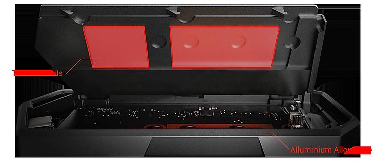 Hộp Đựng Ổ Cứng Di Động SSD ASUS ROG Strix Arion Lite ESD-S1CL - Hàng Chính Hãng 4