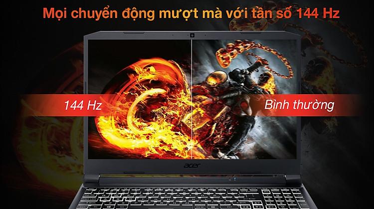 Acer Nitro 5 Gaming AN515 57 50FT i5 11400H (NH.QD8SV.003) - Tần số quét
