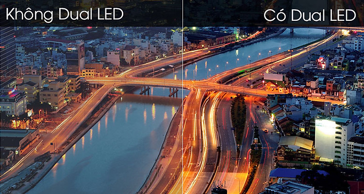 Smart Tivi Samsung 4K 55 inch UA55TU8500 - Công nghệ Dual LED