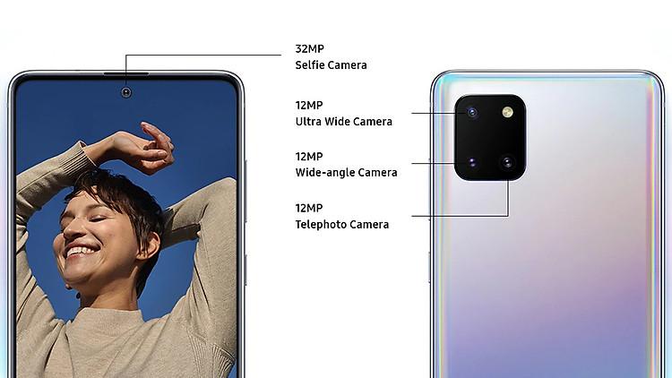 camera Samsung Galaxy Note10 Lite