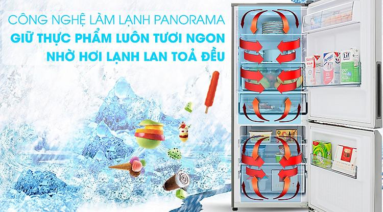 Công nghệ Panorama - Tủ lạnh Panasonic Inverter 255 lít NR-BV280QSVN