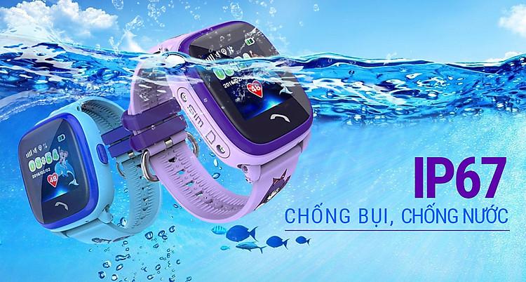 đồng hồ định vị trẻ em Wonlex GW400S